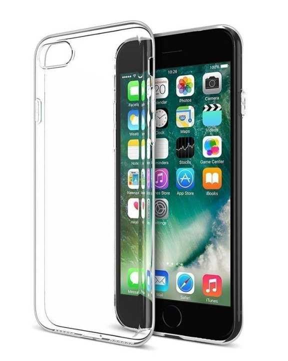 Soft TPU Gel Case For iPhone 7 Plus - Clear