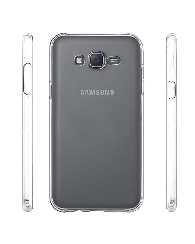 Jelly Case for Samsung Galaxy J5 - Transparent