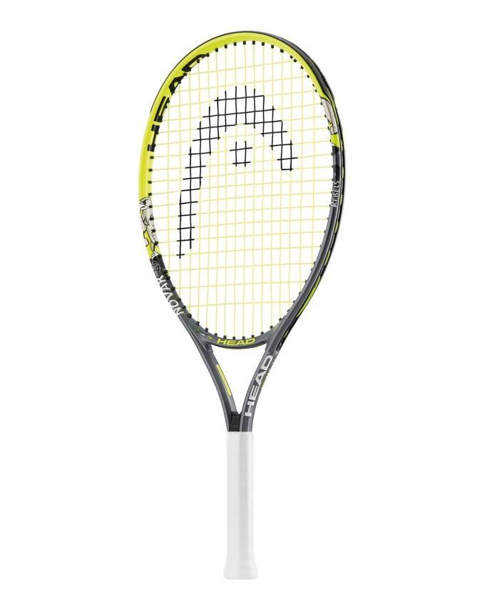 Novak 23 - Junior Tennis Racket - Green