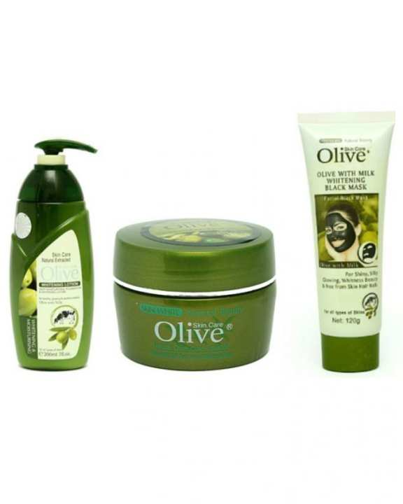 Pack of 3 - Beauty Care Olive Products