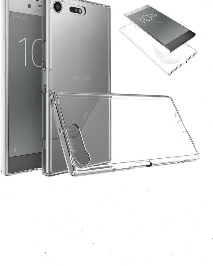 Back Cover For Sony Xperia Xz - Transparent