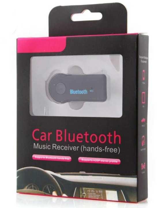 Stereo Black Car Bluetooth Music Receiver