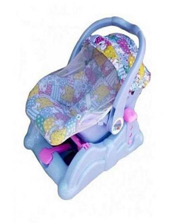 Mama luv Timmy Toys 3 In 1 Baby Carry Cot - Blue