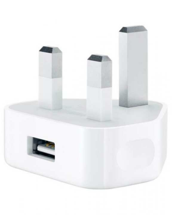 USB Charger For iPhone - White