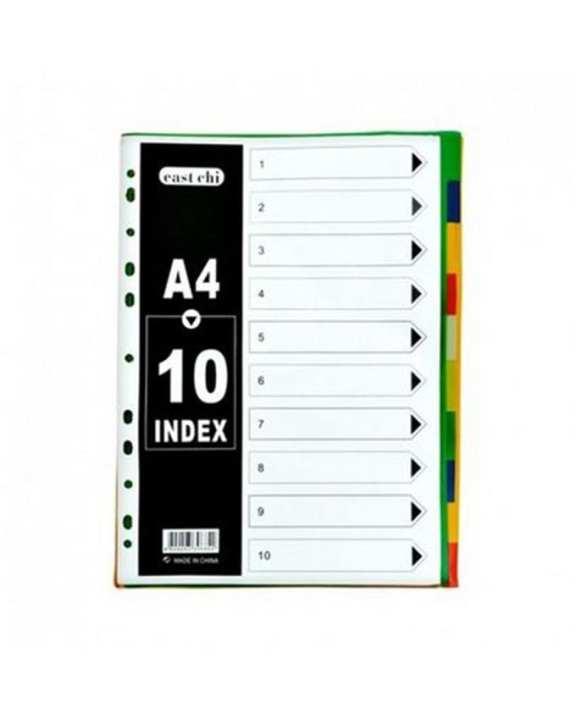 Index Sheet A4-10