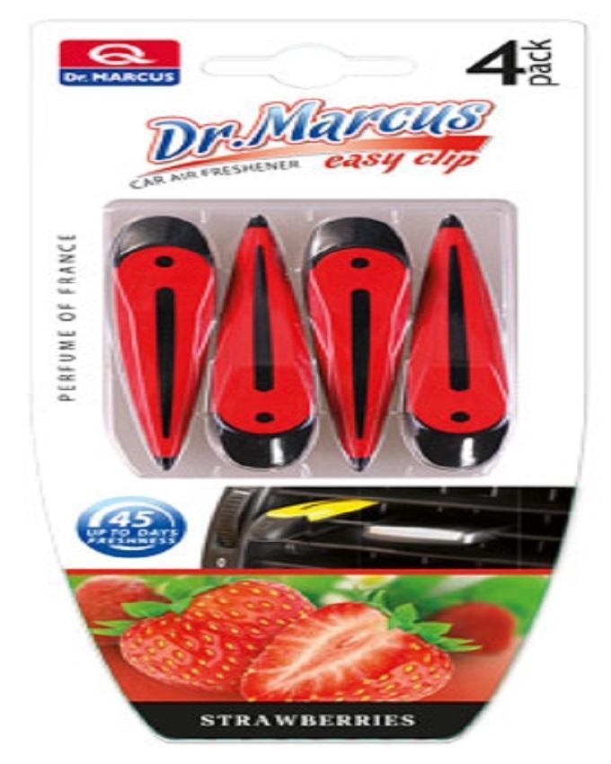 Dr Marcus Easy Clip Car Fragrance - Strawberry