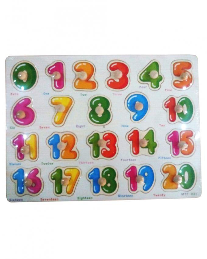Wooden Puzzle - Learning Numbers