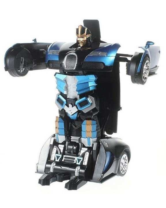 RC Transformer Bugatti - Blue (Large)