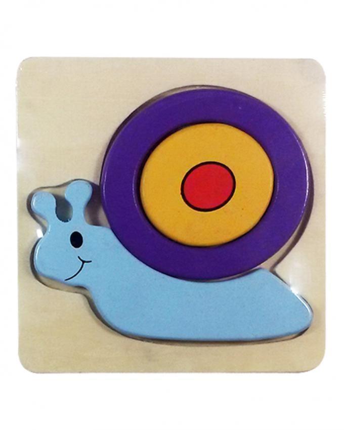 Basic Snail Puzzle - Multicolor