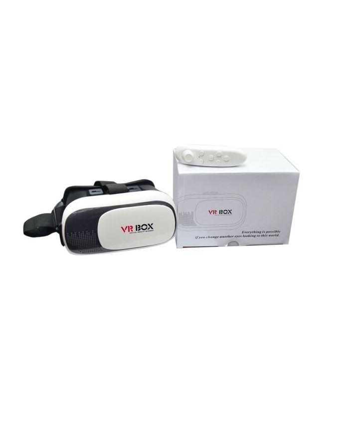 VR BOX - Version 2.0 - Google Cardboard 3D - Black & White