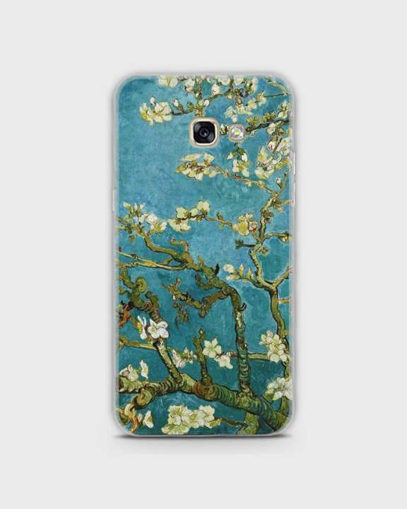 Cover For Samsung A720 Hybrid Soft Painted Tree Print -1cover2807