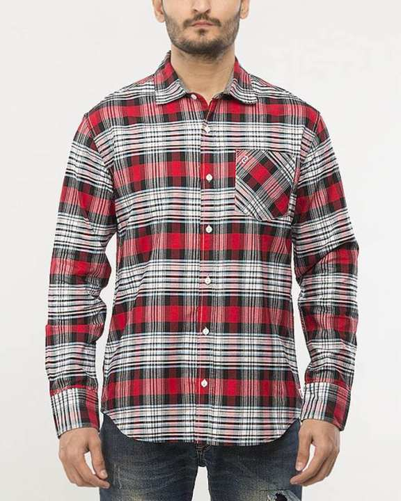 L/S Woven Shirt Lamb'S Wool-Special Online Price