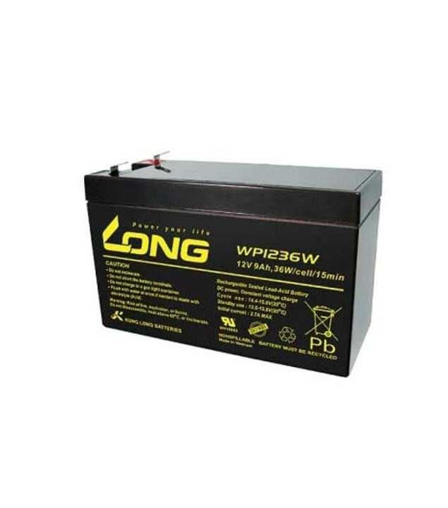 12V 9AH Battery - Black
