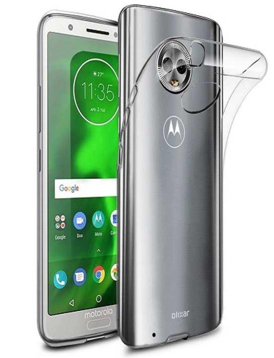 High Quality Transparent Back Cover For Motorola Moto G6 Plus - Shine Tpu