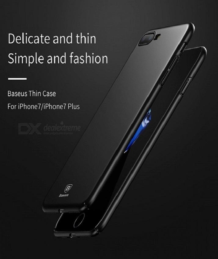 Baseus Luxury Smooth Matte Ultra Thin Slim PC Back Cover FOR Iphone 7 plus