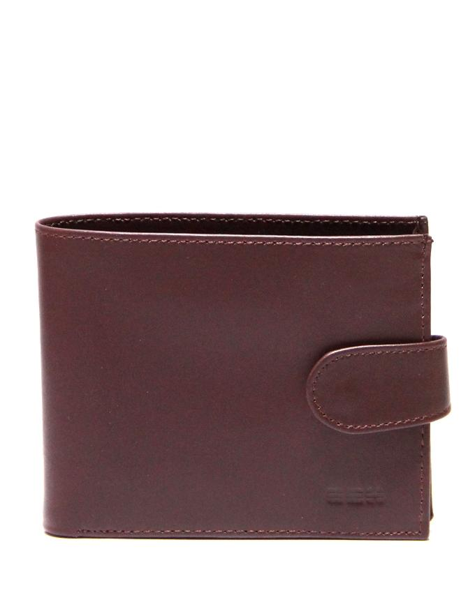 Maroon Leather Wallet For Men