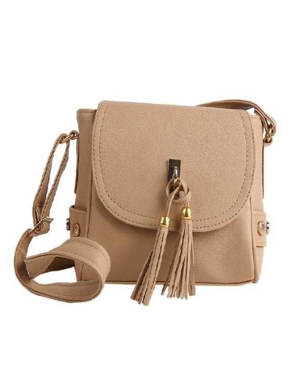 Beige Fashion Stylish Hand Bag