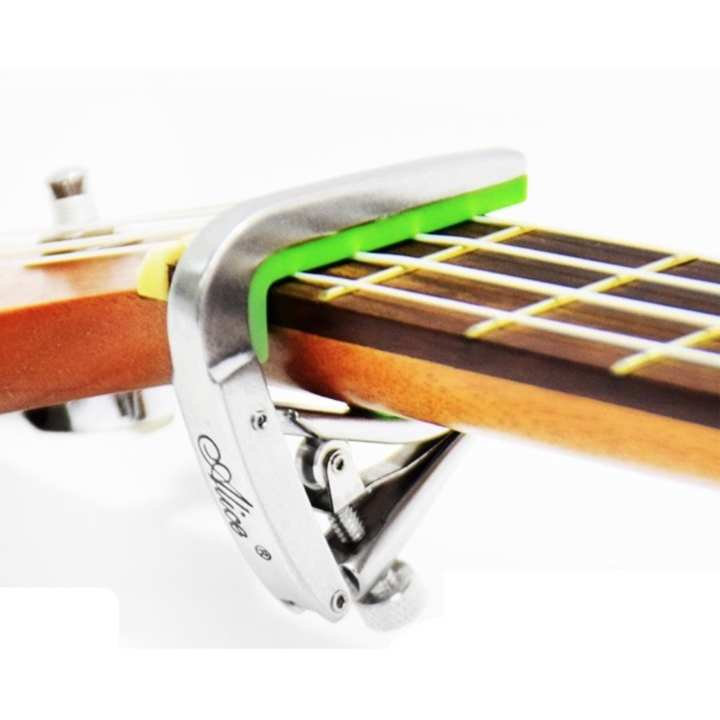 "Alice Ukulele Capo ""Quick Change Clamp"" Silver"
