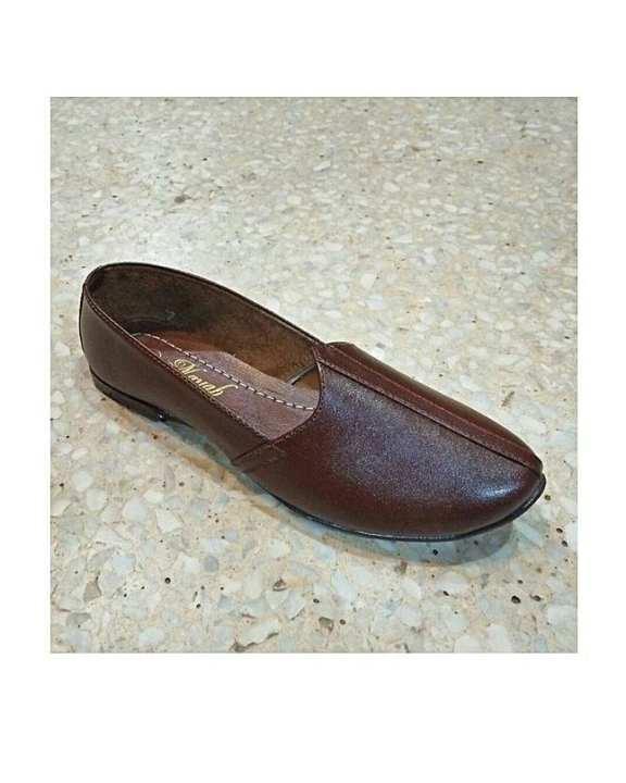 Leather Craft Naagra Rajistani Leather Shoes