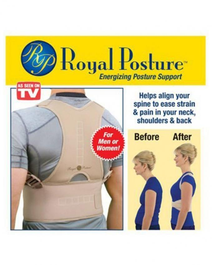 Royal Posture Back Support Belt - Beige a12790cc4d