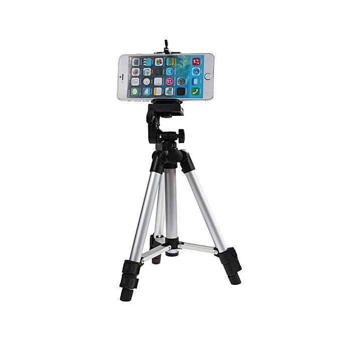 e9d1e9709c6 Tripod Mobile Phone Camera Stand 3110 For Dslr Silver And Black
