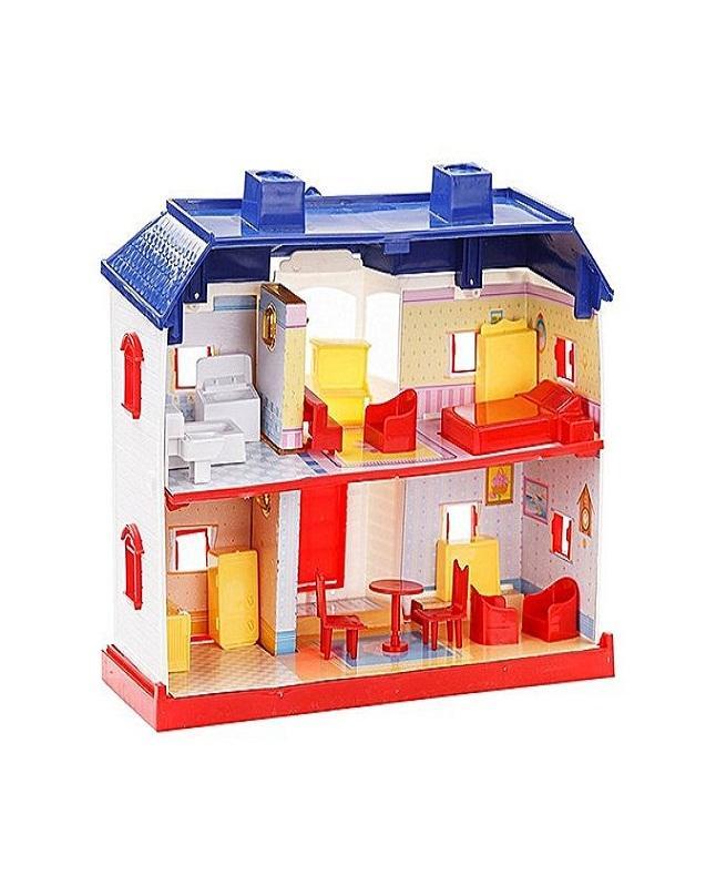 24 Pcs Mama Mia Doll House For Kids