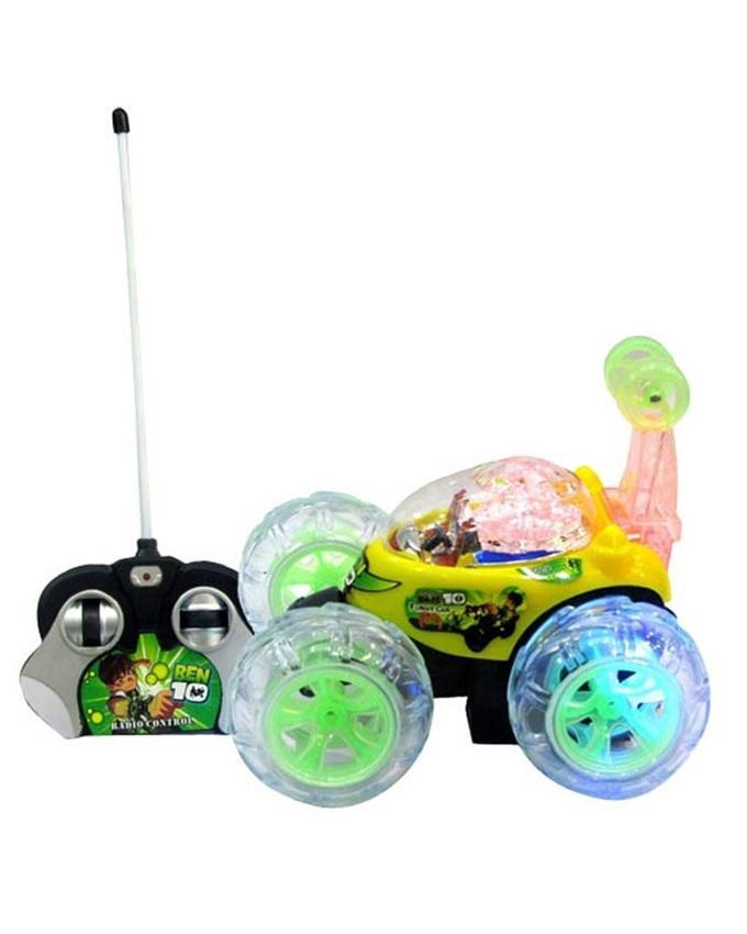 Ben Ten Remote Control Stunt Car - Multicolour