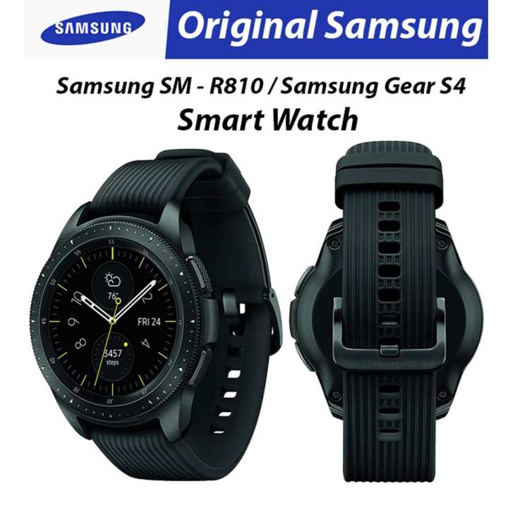 Original Samsung Galaxy Watch 42Mm Sm-R810/ Gear S4 Smart Watch