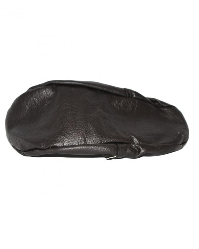 Black - Leather - Socks with Zipper for Unisex