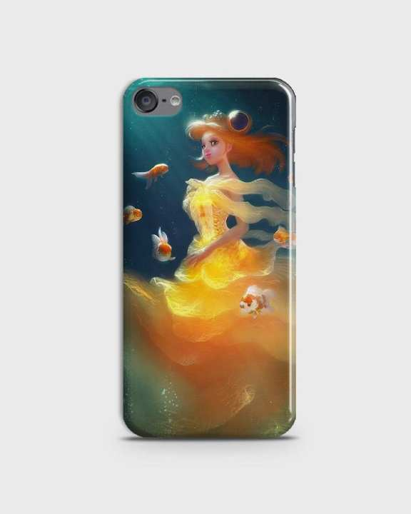 Cover For Iphone Ipod 6 Hard Mermaid Style Girl -1cover2823