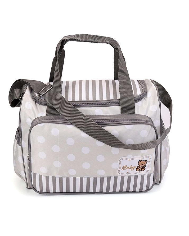 d9546252434 Baby Diaper Bag D Zipped - Grey