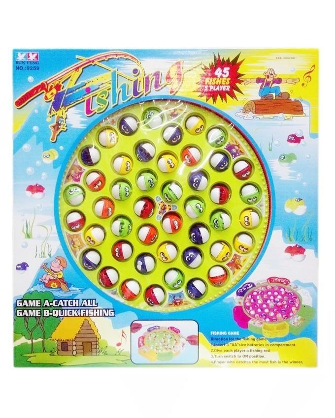 Kids Fishing Game - Multicolor