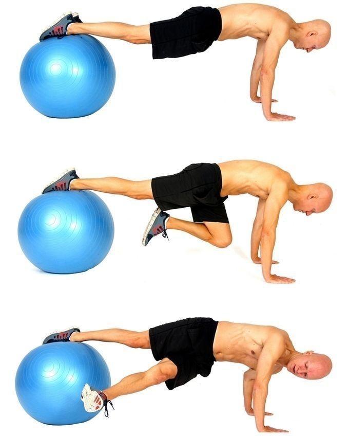 Gym Ball - 55cm - Blue