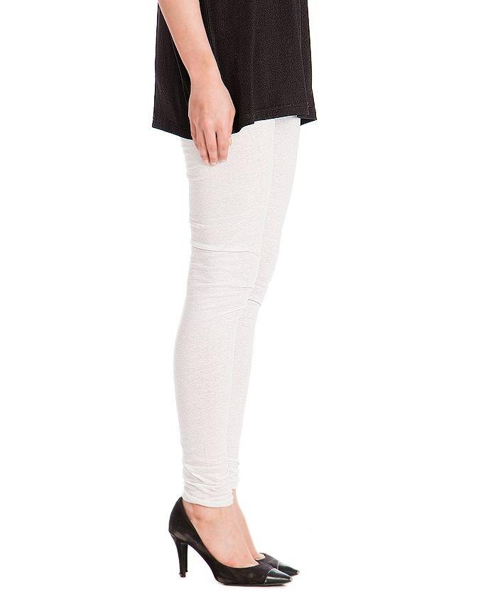 White Viscose Tights For Women