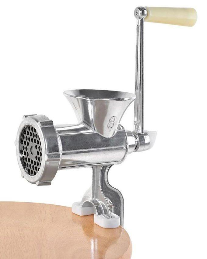 Meat Mincer With Extra Blade - JCW-B10 - Silver