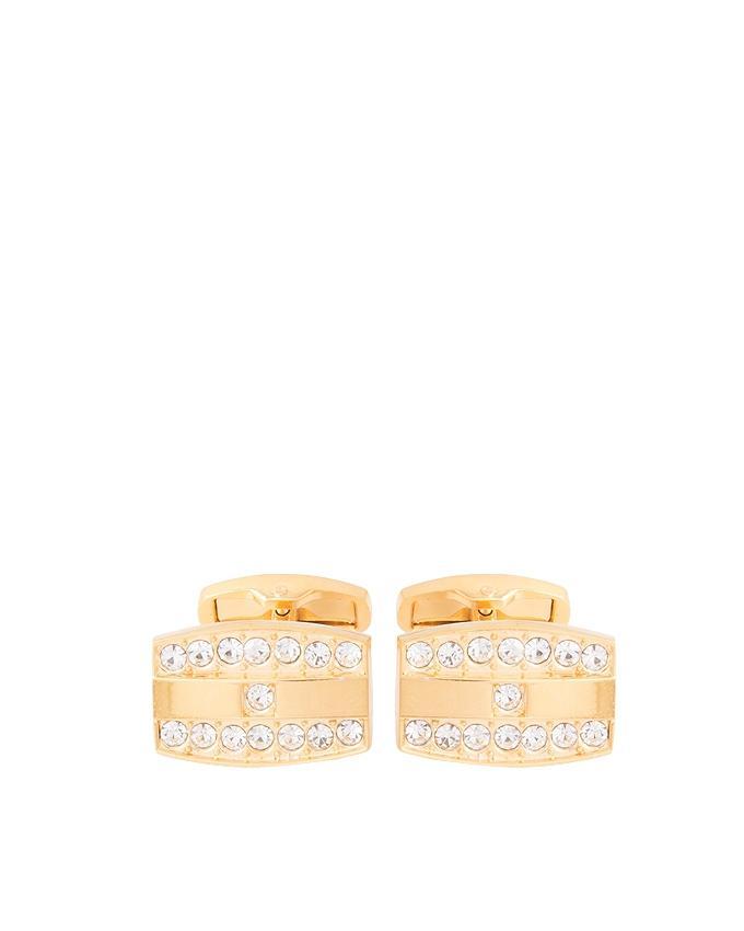 Golden Rhodium Cufflinks for Men - C-083