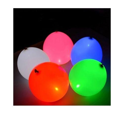 Set of 15 - LED Glowing Color Changing Baloons