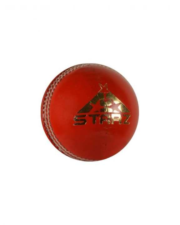 Super Cavalier 99 Leather Cricket Ball - Red
