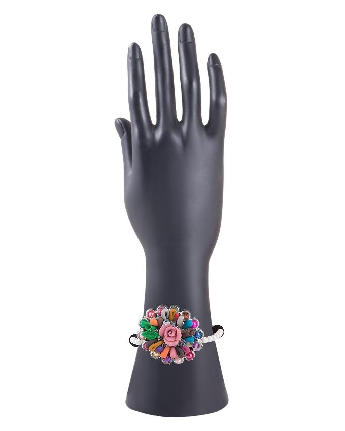 Multi Color Metal Hand Made Fancy Bangle for Women - RIZ-BRC-41