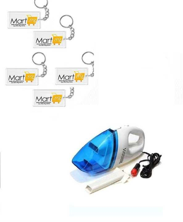 Car Vacuum Cleaner with free 5 key chains