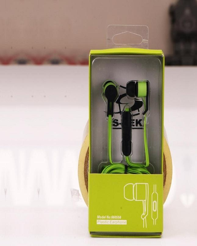 Green Series Stylish Earphones With Woofer Sound
