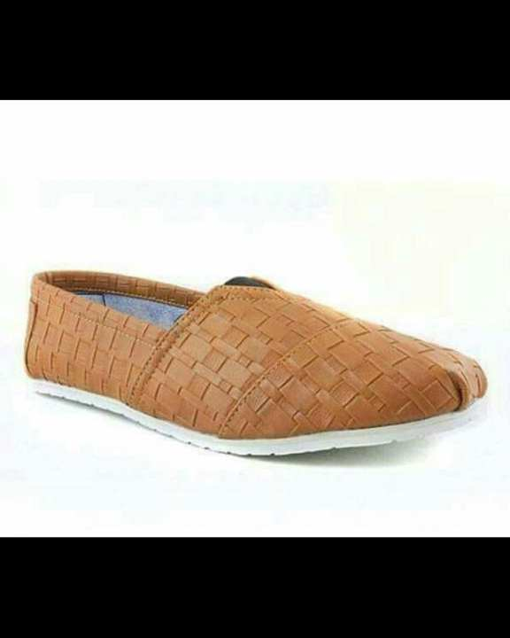 Checkred Style Canvas Shoes For Men - Light Brown