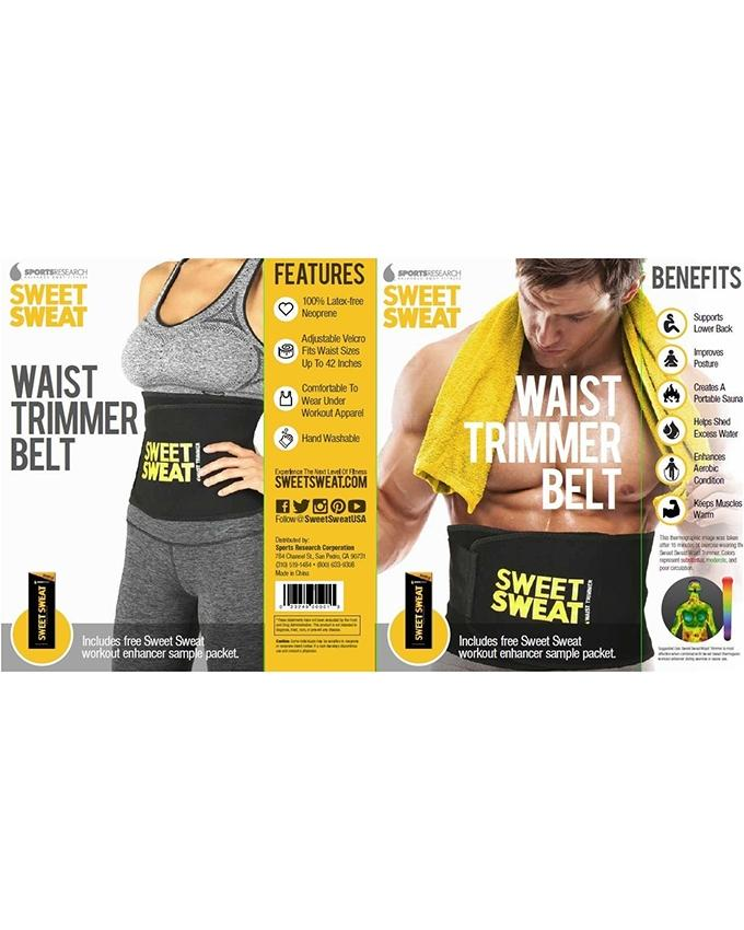 a4727f660e Waist Trimmer Belt - Sweet Sweat  Buy Online at Best Prices in ...