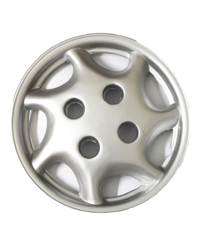 Pack of 4 - 13'' Wheel Covers for All Cars - Silver