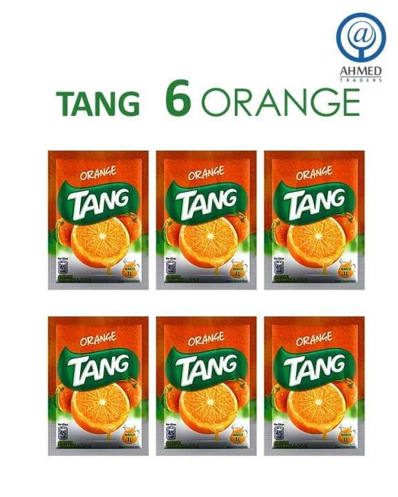 Pack Of 6 - Orange 50 Gm Each