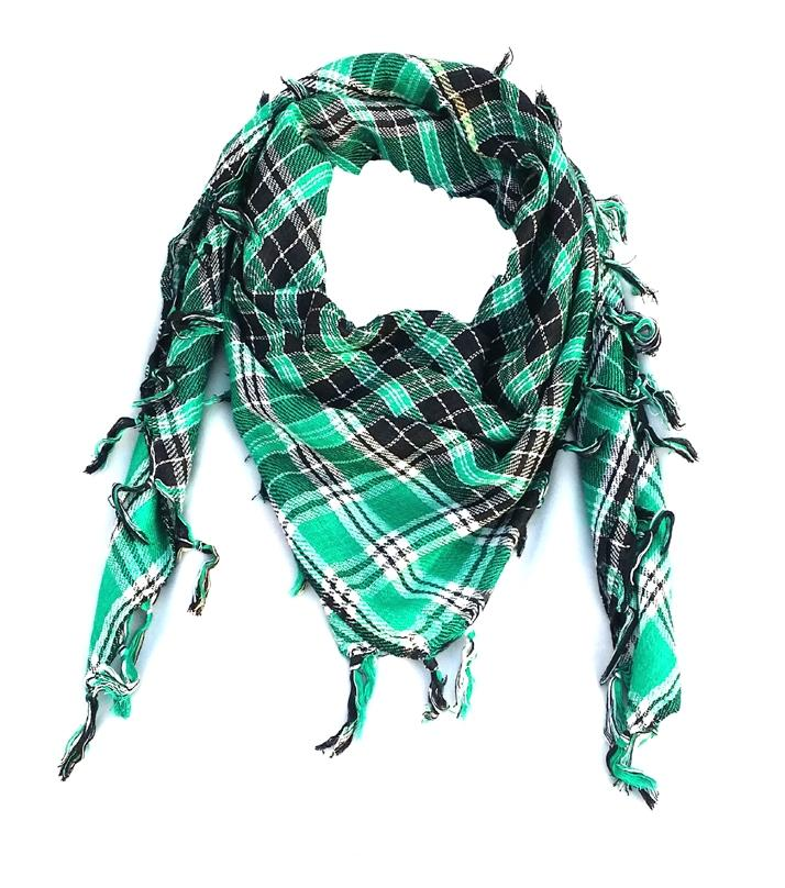 Green Windproof Scarf for Men & Women