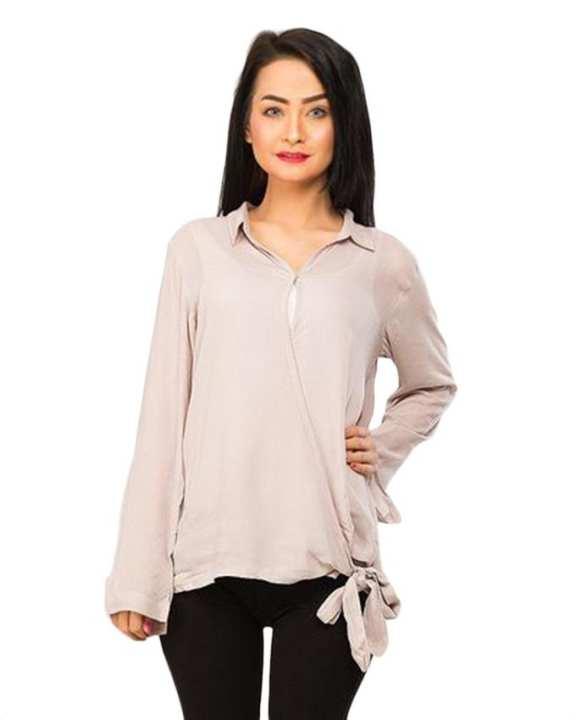 BEECHTREE - Absolute GREY 1-Pcs Shirt For Women