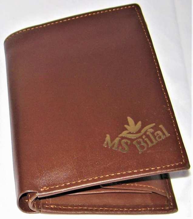 100% Genuine Soft Leather Brown Wallet For Men