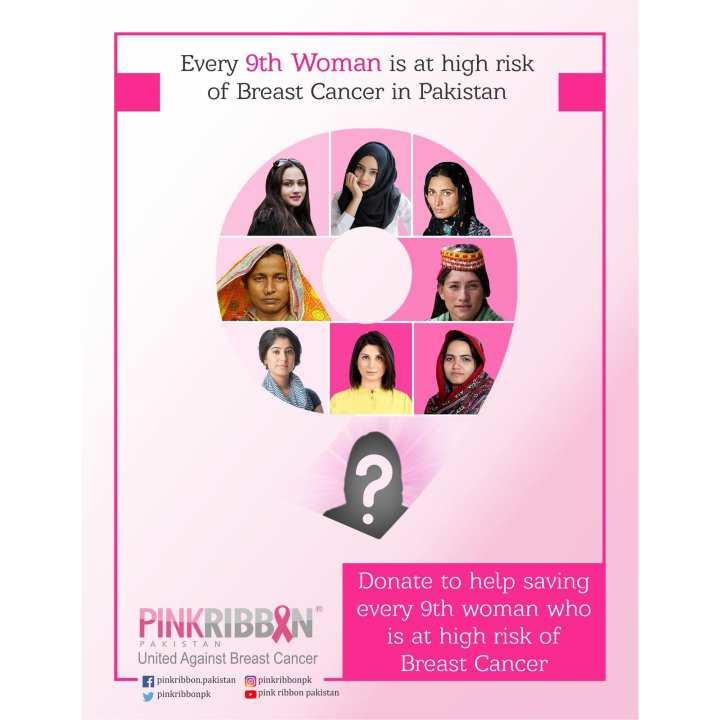 Donate to help saving every 9th woman who is at high risk of Breast Cancer