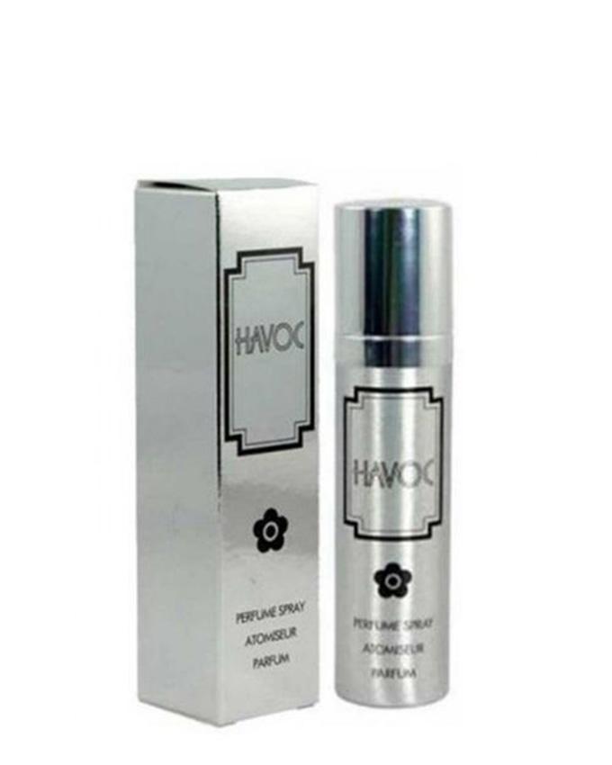 Havoc-SILVER Perfume Spray for Men - 75 ml